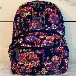 💙Vera Bradley Backpack Midnight Wildflowers💙